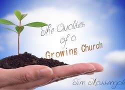 the qualities of a growing church