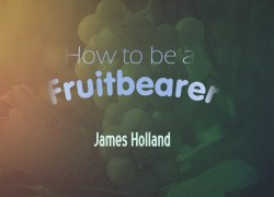 How To Be a Fruitbearer