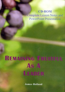 Remaining Fruitful As A Leader